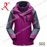 3 in 1 Waterproof Tech Winter Ski Jacket (QF-662)