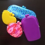 Promotion Gifts Newest High Quality Silicone Mini Pochi Purse