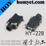 2.5mm LCP Phone Jack with RoHS Certification (HY-228)