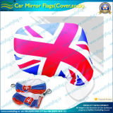 Car Mirror Cover Elastic Knitted Decorative Flag