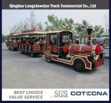 High Quality Electric Trackless Tourist Train with Coaches for 28 People
