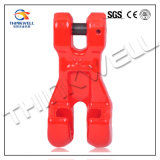 Forged Steel Red Painted Chain Connecter Double Clevis Link