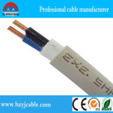 Factory Price 3X1.5mm PVC Coated Double Sheath Solid Electric Cable, Ningbo Port