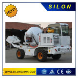 Hydraulic Self-Loading Concrete Mixer Truck with 4WD on Hot Sales (SL1.7R)