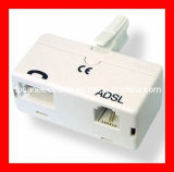 UK ADSL Splitter and Filter; UK ADSL Splitter; Rj11 Splitter Filter, ADSL Filter Splitter Rj11 Splitter Filter