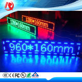 High Resolution Single Color Green P10mm Outdoor IP65 LED Displays