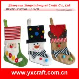 Christmas Decoration (ZY15Y009-1-2-3) Christmas Pick Gift Packing Item Christmas Factory