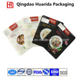 Plastic Flat Gravure Printing Ziplock Frozen Food Packaging Bag