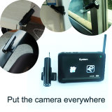 2.4G Wireless Inspection Camera with 5 Inch LCD DVR Screen and Sticky Stand Holder