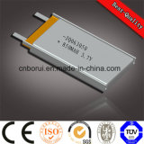 3.7V 606090 4000mAh Li-Polymer Battery for Power Bank