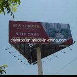 Three Face Steel Structure Outdoor Column Billboards