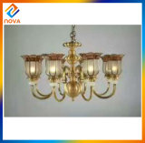 Antique Clear Glass Ceiling Lamp Vintage Pendant Light Chandelier