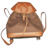 Outdoor Backpack Made of Canvas/Nappa Leather