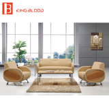 Modern Leather Sofa Sets Pictures/Office Black Guest Sofa Furniture