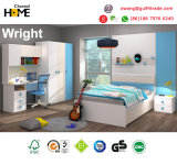 Popular Modern Kids Furniture Colorful Wooden Bedroom Furniture (Wright)