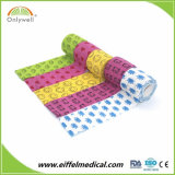 Custom Printed Horse Adhesive Medical Vet Wrap Waterproof Cotton Cohesive Bandages