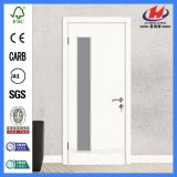 5 Panel Moulded MDF/HDF Wood Glass Door