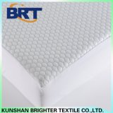 Blue Hexagon Cool Feeling Air Layer Waterproof Mattress Cover