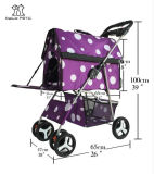 Customized Pet Supply 2 in 1 Dog Carrier and Pet Stroller