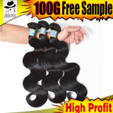100% Human Hair Extensions in Brazilian Wave Hair