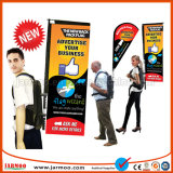 Three Shape and Various Colors Available Cheap Backpack Flag