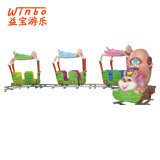 Made in China Amusement Equipment Game Machine Toy Track Train for Children Park (T06)