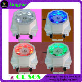 Newest Professional 8X3w Rotating Effect Stage LED Gobo Light