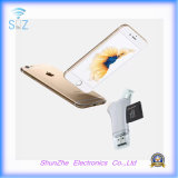 I- Flashdevice All in One Memory TF Card Reader for iPhone Lightning Micro USB Androids Port