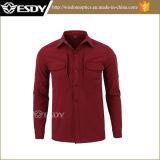 Men′s Winter Skark-Skin Thermal Waterproof Windproof Fleece Inside Shirt