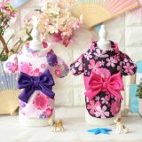 Sakula Bowtie Classic Dog Kimono Garment Pet Japan Costumes