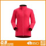 Women′s Flatfleece Customed High Quality Jacket