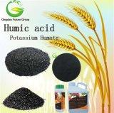 Golf Course Use Organic Fertilizer Humic Acid Granular Humus