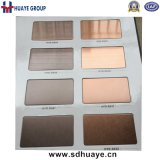 Top Quality Stainless Steel Colored Plates Sheets PVD Plating Brown, Rose Gold, Grey, Wine Red, Bronze, Gold, Black Titanium