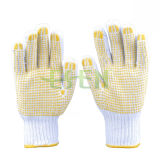 High Quality Industrial Protedting Cotton Hand Gloves PVC Dots