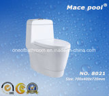 Popular Single Hole Siphonic One-Piece Water Closet (8021)