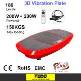 3D Vibration Machine Platform Slim Body Shaper Exercise Trainer Plate