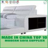 New Arrival Bedroom Set Bedroom Furniture Grey Leather Bed