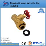 Good Price Hand Operated Union End 1 Inch Brass Ball Valve with Nipple