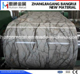 Printed Steel Coil with Marble Pattern