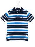 Custom Boy′s Striped Polo Shirt