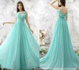 2017 Chiffon Evening Dress A-Line Beading Party Prom Dresses Ld1547