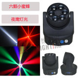 LED 6*15W 4in1 RGBW LED Bee Eye Moving Head Light