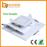 Ultrathin Square Ceiling Decorative LED Panel Office Lighting (3-60W) with Ce, RoHS