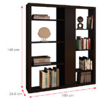 Modern Wooden Office Filing Cabinet /Storage Cabinet / Bookcase (HX-DR245)