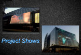 Centre Mall Advertising Glass Wall Transparent LED Display Screen