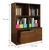 Modern Wooden Office Filing Cabinet /Storage Cabinet / Bookcase (HX-DR006)