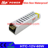 12V-60W Constant Voltage Slim Non Waterproof LED Power Supply
