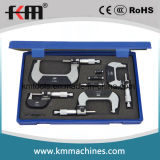 0-100mmx0.01mm 4PCS Set Outside Micrometer with Counter