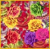 Digital Printing Summer Lady Vintage Silk Scarf (F13-0076)