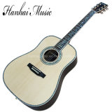 Hanhai Music/41'' All Solid Wood Acoustic Guitar (D45)